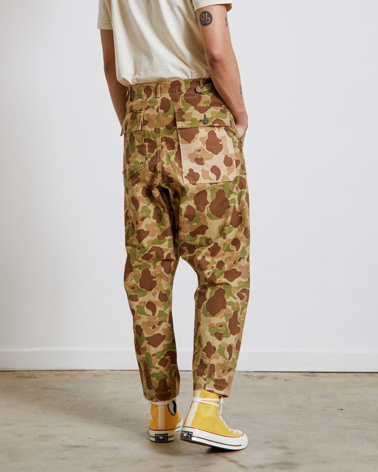 Patched Mill Fatigue Pant in Peacekeeper Camo