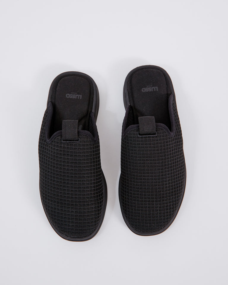 Pelli Slide in Jet Black