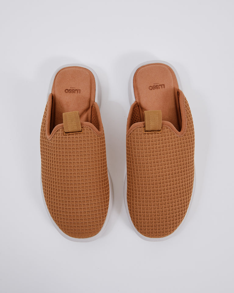 Pelli Slide in Chestnut
