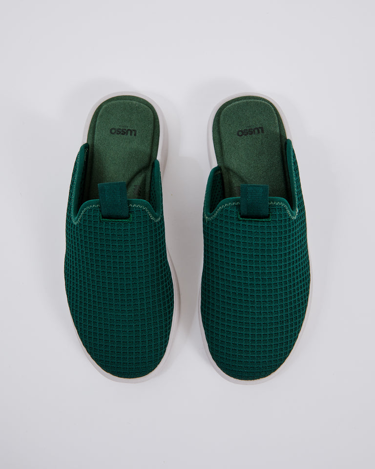 Pelli Slide in Forest Green