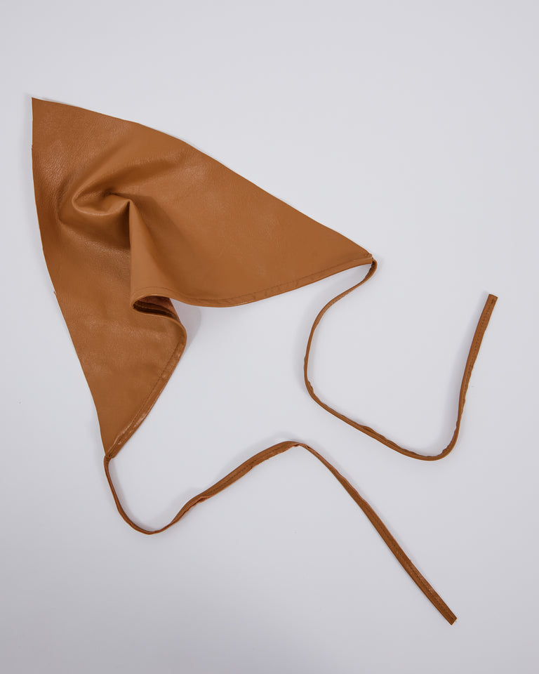Lambskin Handkerchief in Honey