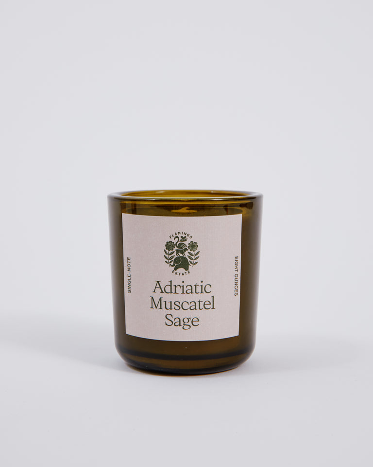 Candle in Adriatic Muscatel Sage