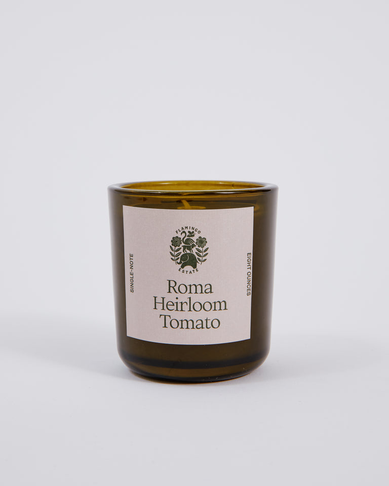 Candle in Roma Heirloom Tomato