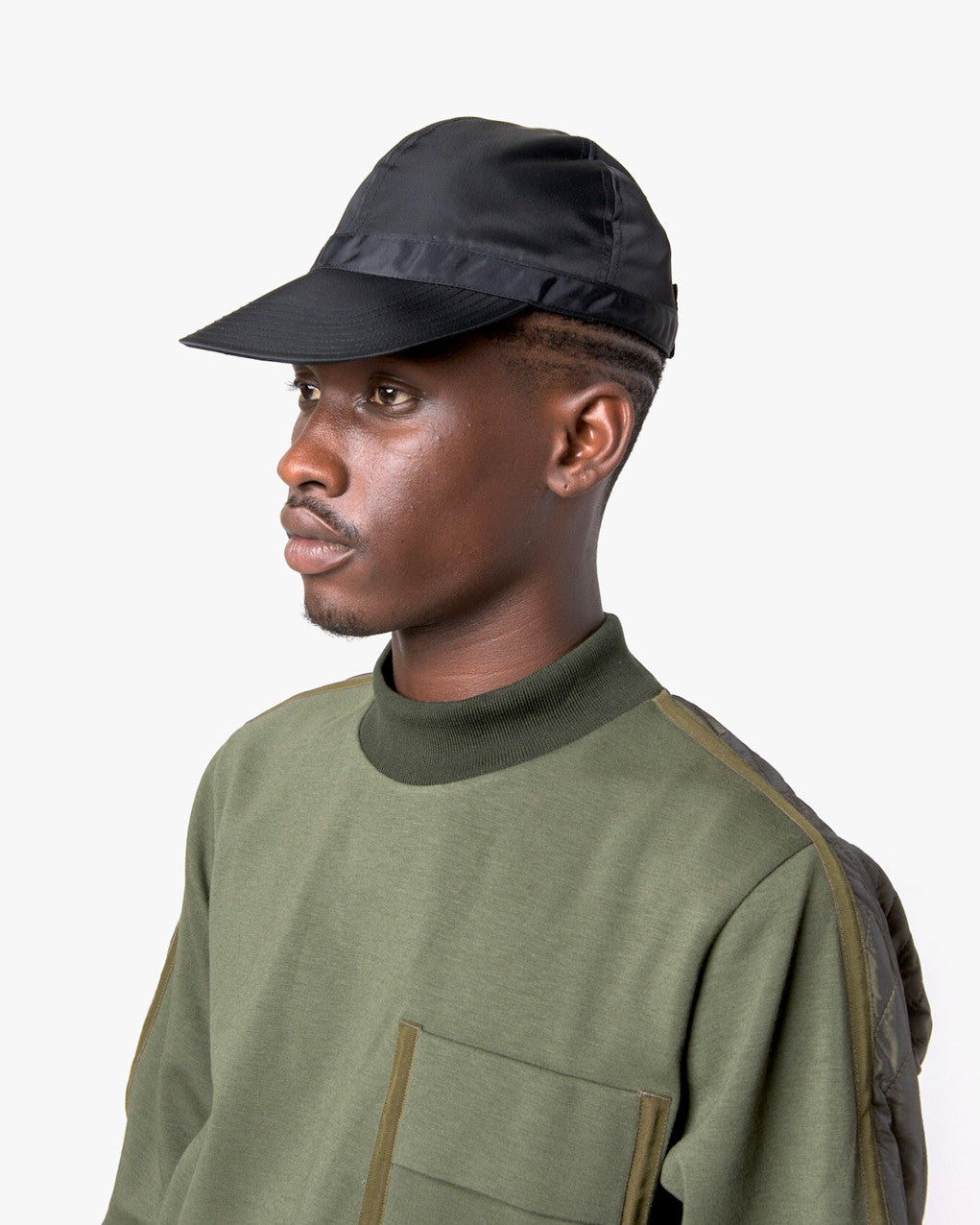 Nylon Scout Cap in Olive by SMOCK Man at Mohawk General Store - 5