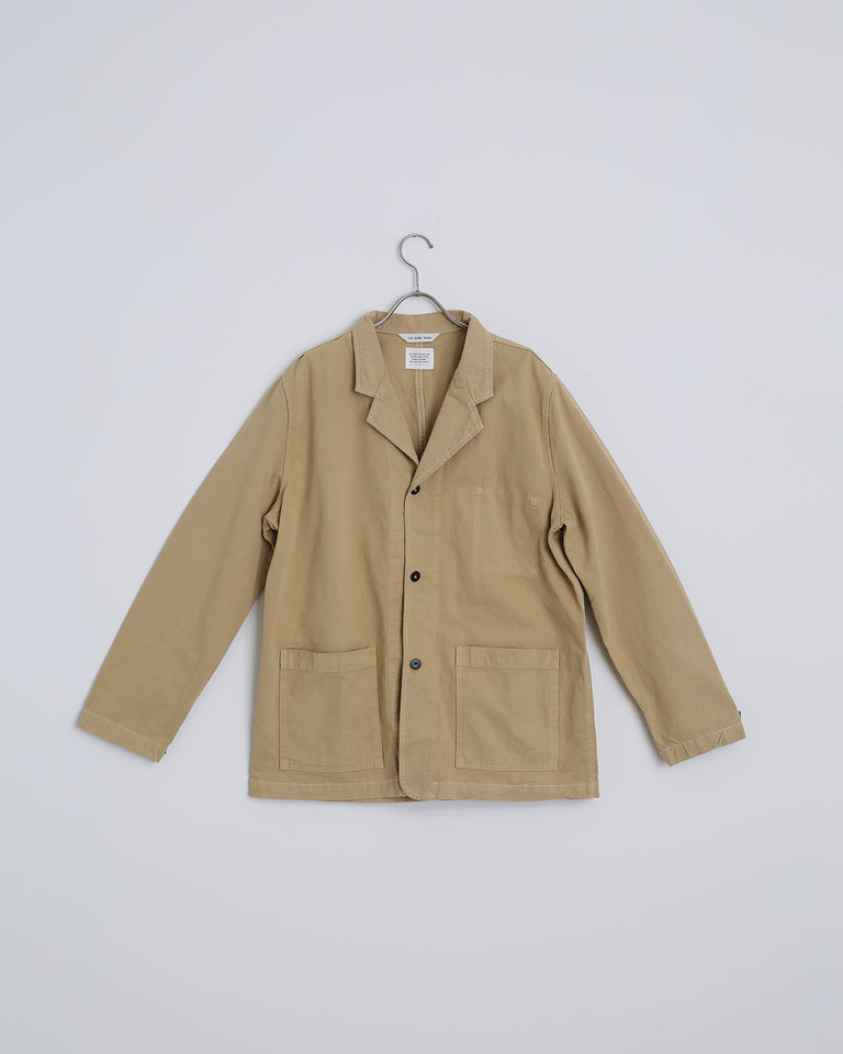 Drill Shop Coat in Wheat