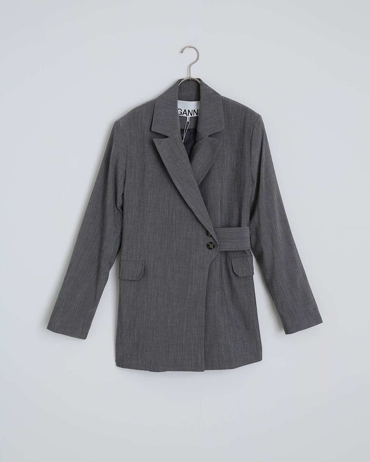 Melange Suiting Jacket in Paloma