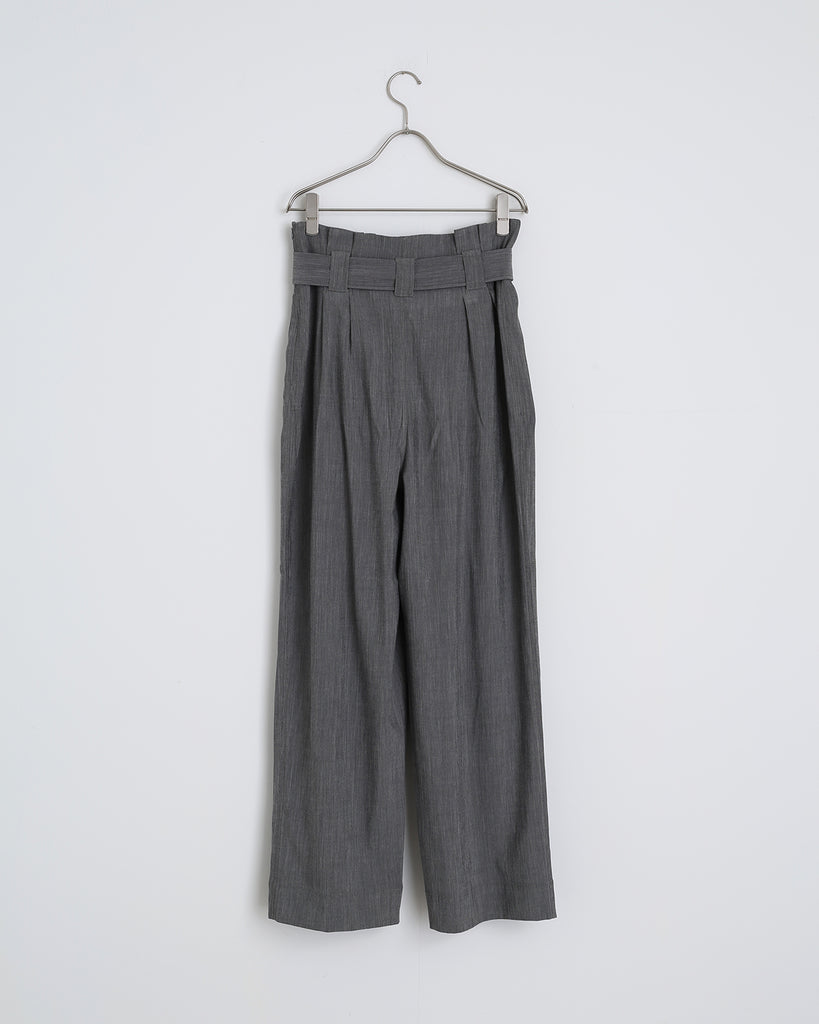 Melange Suiting Pant in Paloma