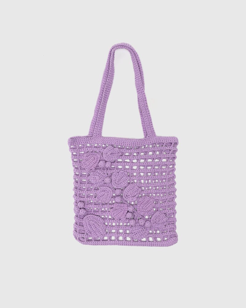 Aratilis Tote in Lilac by Abacá at Mohawk General Store