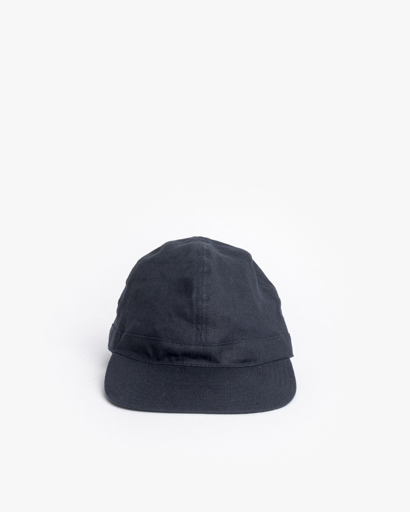 Linen Scout Cap in Navy by SMOCK Man at Mohawk General Store - 2
