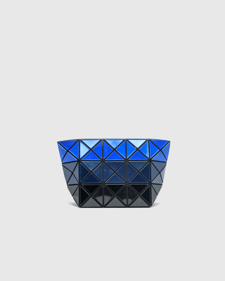 Prism Metallic Pouch in Blue