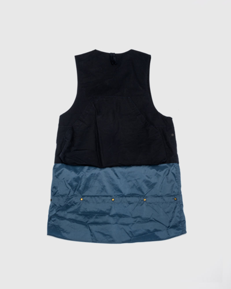 Game Vest in Navy by Engineered Garments at Mohawk General Store