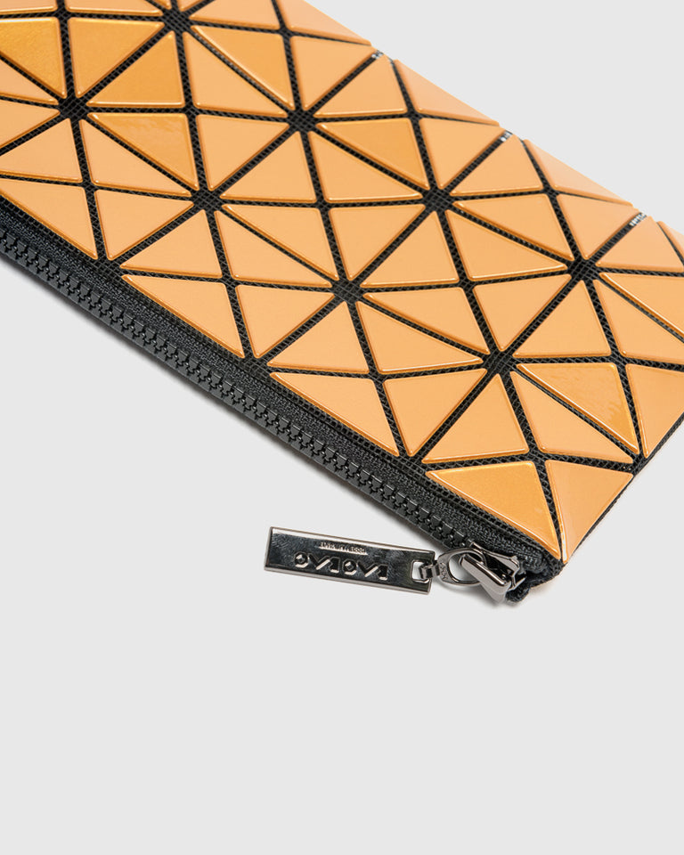 Prism Flat Pouch in Gold