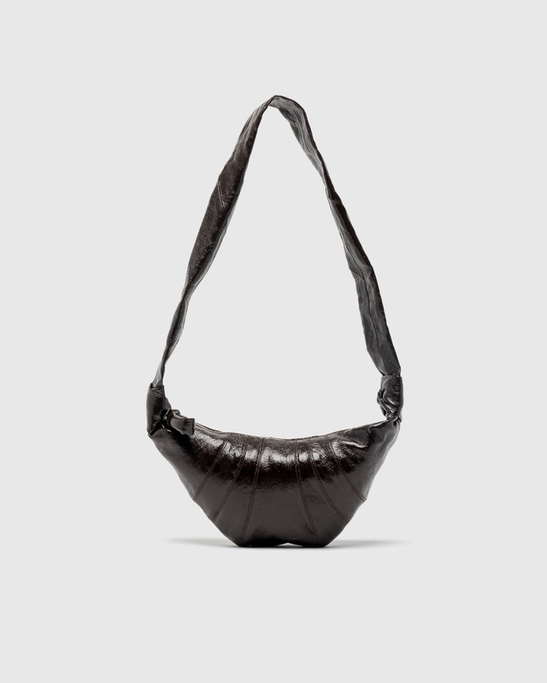 Unisex Small Bum Bag in Chocolate Torte