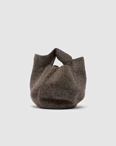 Woolen Baby Bowl Bag in Burl