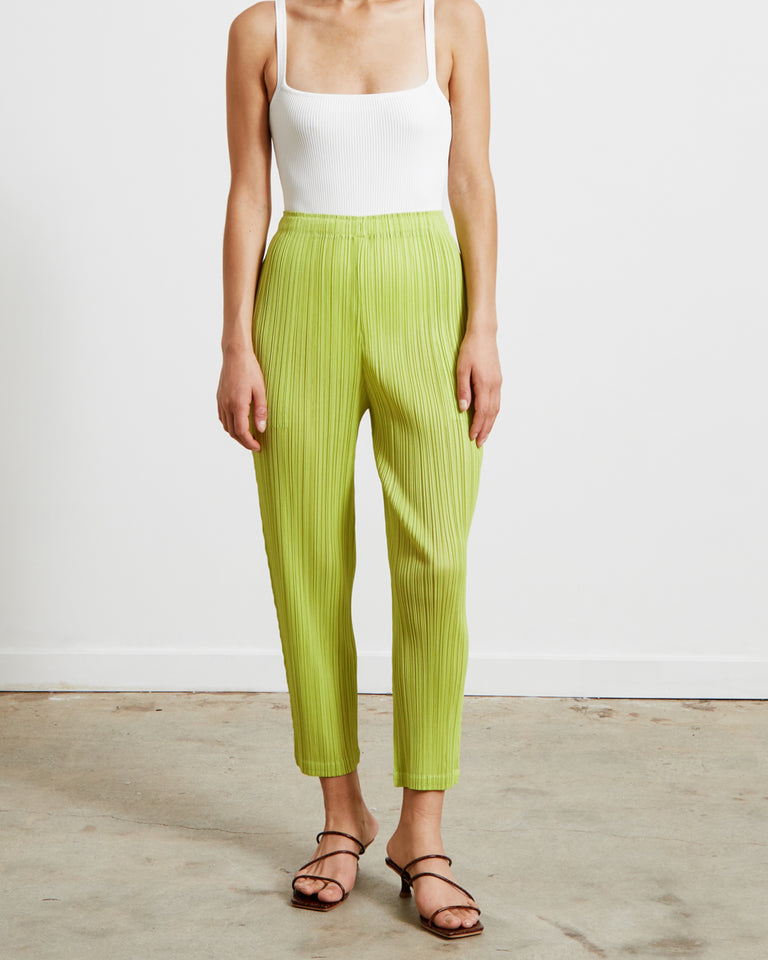 PP16JF144 Pants in Chartreuse
