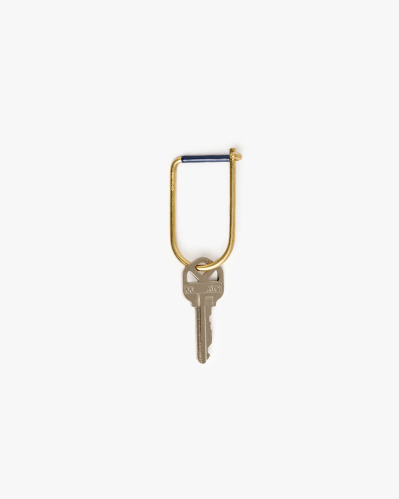 Wilson Key Ring in Blue by Craighill at Mohawk General Store