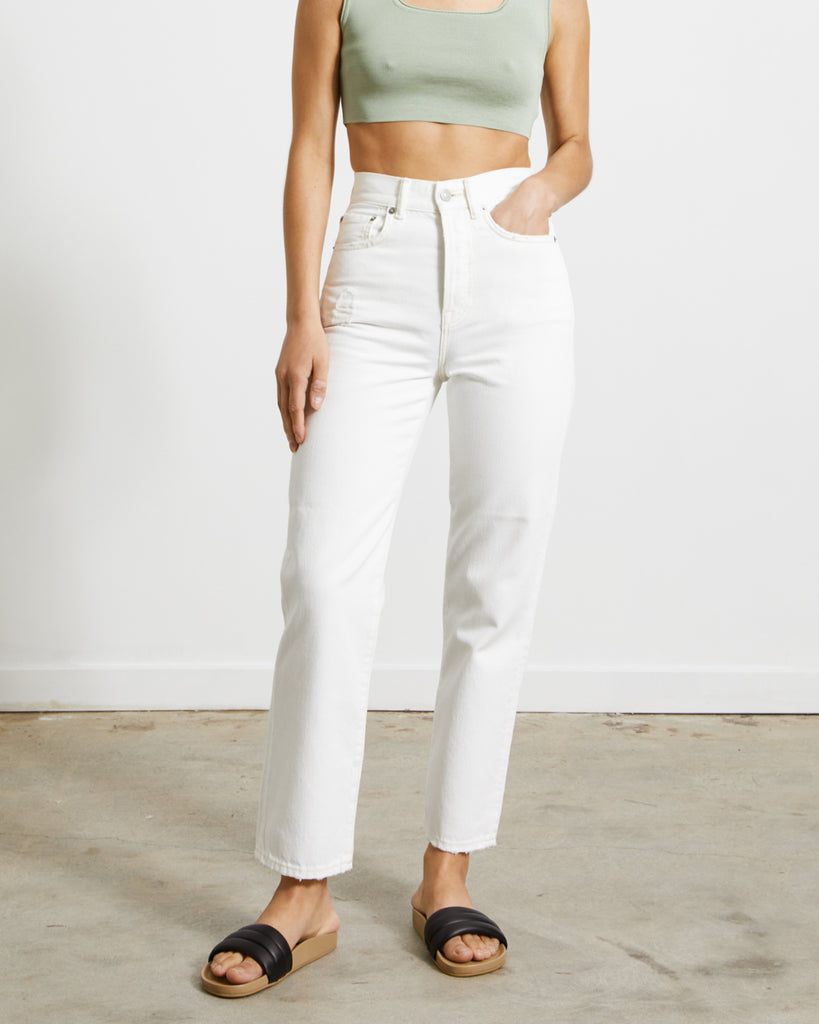 Denim Jeans in White