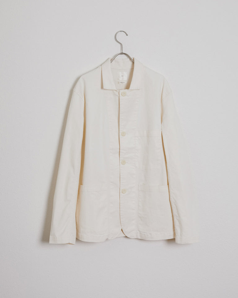 SMOCK x Adam Pogue Hunter Jacket in Cream #3