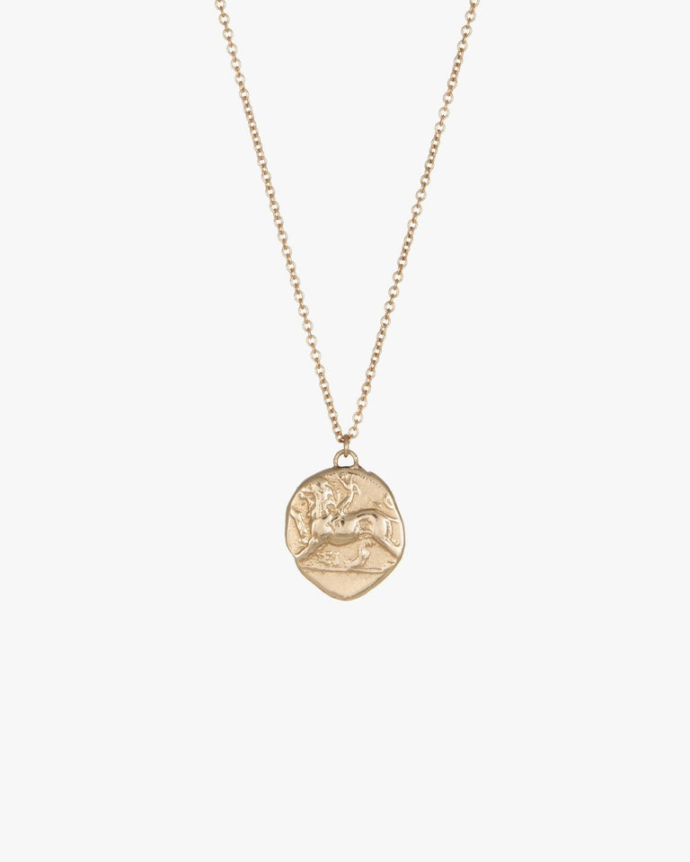 Chimera Pendant in 14K Gold