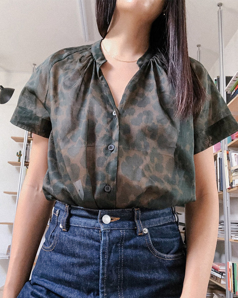 Chen 9002 Shirt in Kahki