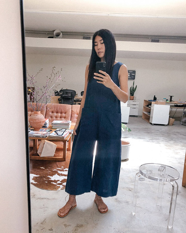 Milo Jumpsuit in Dark