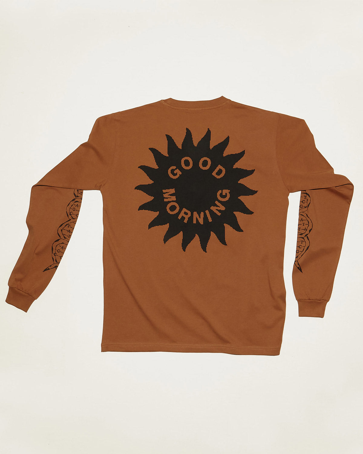 Plants Heal Long Sleeve Tee in Clay