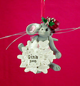 MERRY MOUSE with BOW HOLLY
