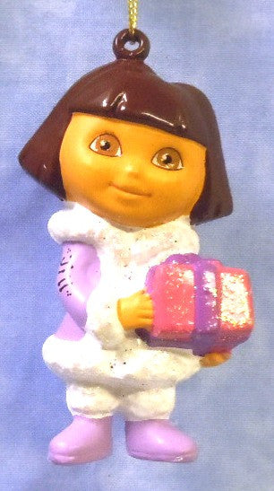 Dora with Package