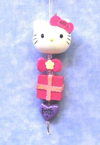 Hello Kitty Dangle with Present