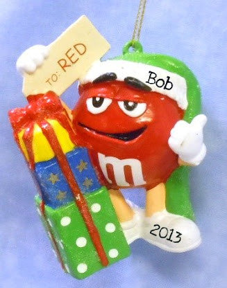 M&M Bmold on Red