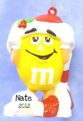 M&M Bmold Ornament Yellow