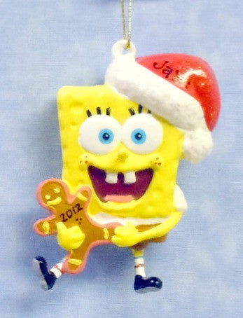 SpongeBob with gingerbread