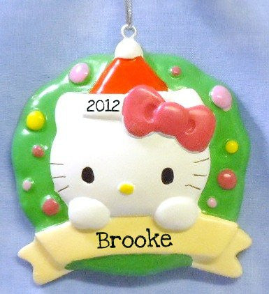 Hello Kitty with Wreath