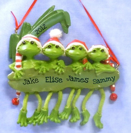 Frog Family of 4
