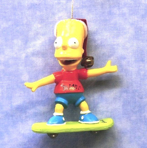 Bart on Skateboard