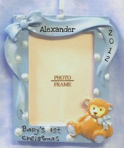 Baby Frame with Bear