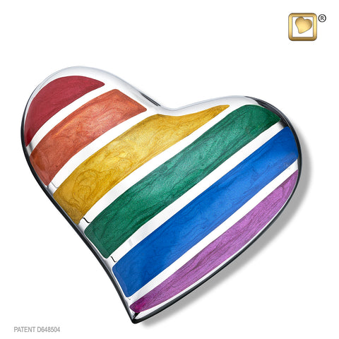 Pride Rainbow (Keepsake Heart)