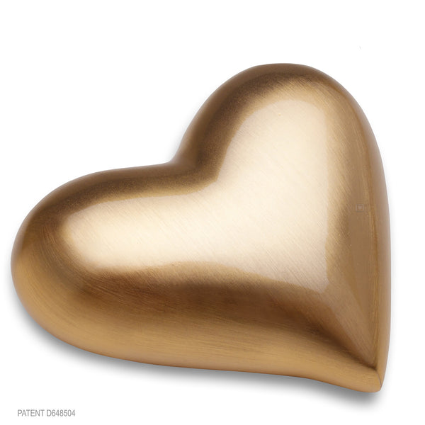 Brushed Gold (Keepsake Heart)