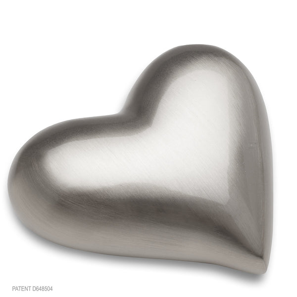 Brushed Pewter (Keepsake Heart)