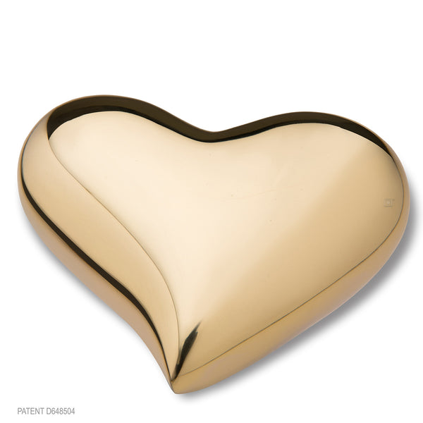Bright Gold (Keepsake Heart)