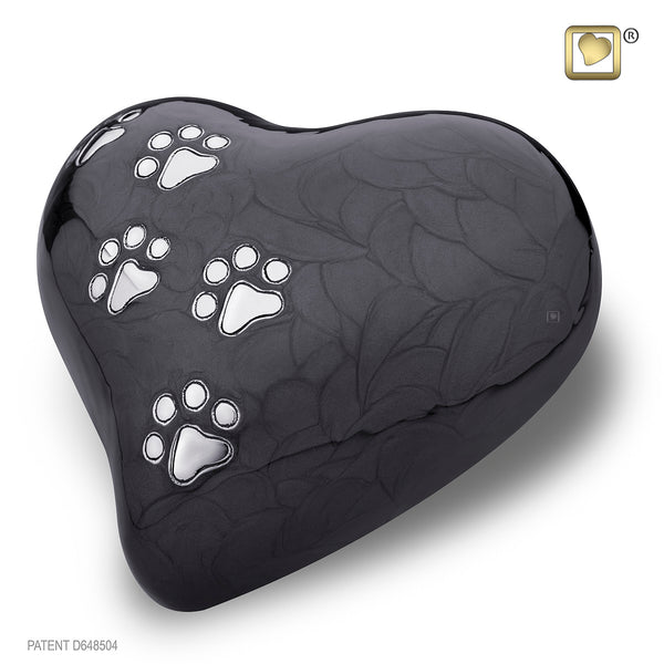 LovePaws™ Pearlescent Midnight (Large Heart)