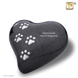 LovePaws™ Pearlescent Midnight (Medium Heart)