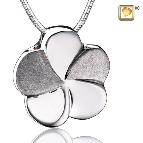 Pendant: Bloom - Rhodium Plated Two Tone