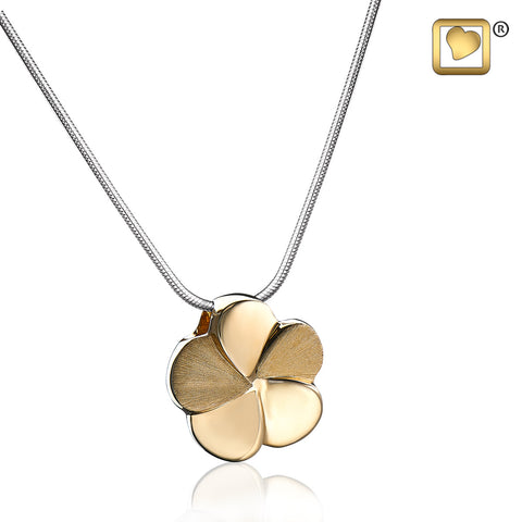 Pendant: Bloom - Gold Vermeil Two Tone