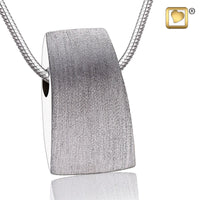 Pendant: Tribute - Rhodium Plated Two Tone