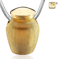 Pendant: Urn - Gold Vermeil Two Tone