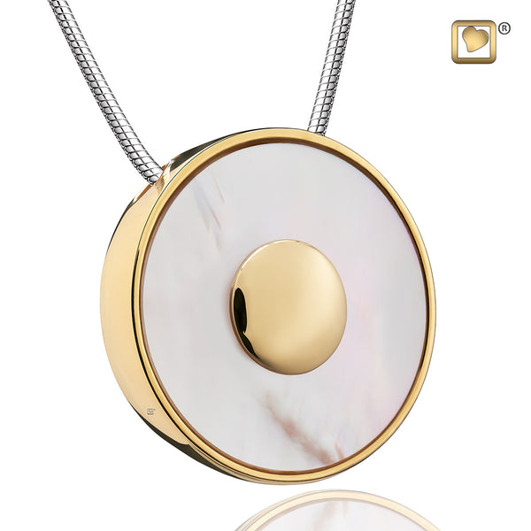 Pendant: Mother of Pearl - Gold Vermeil