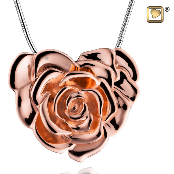 Pendant: LoveRose - Rose Gold Vermeil