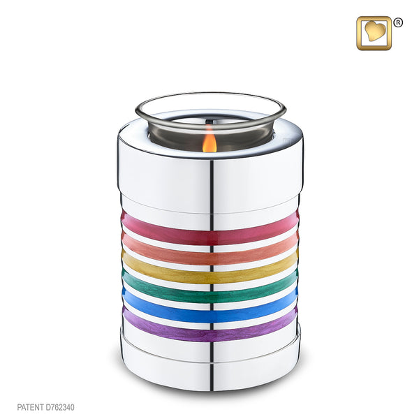 Pride Rainbow (Tealight Urn)