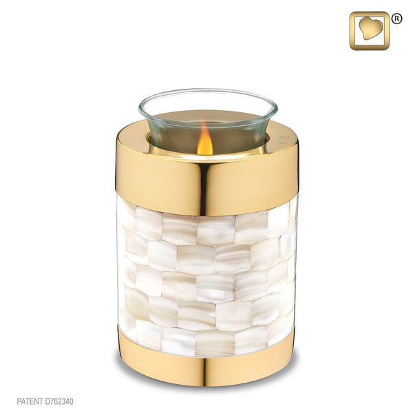 Mother of Pearl (Tealight Urn)